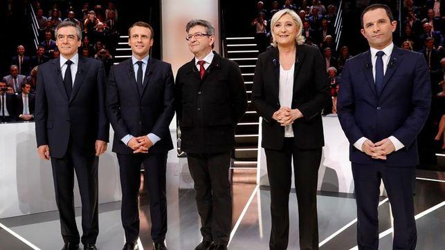 Fillon-Melenchon-todavia-Pen-Macron_EDIIMA20170418_0074_27