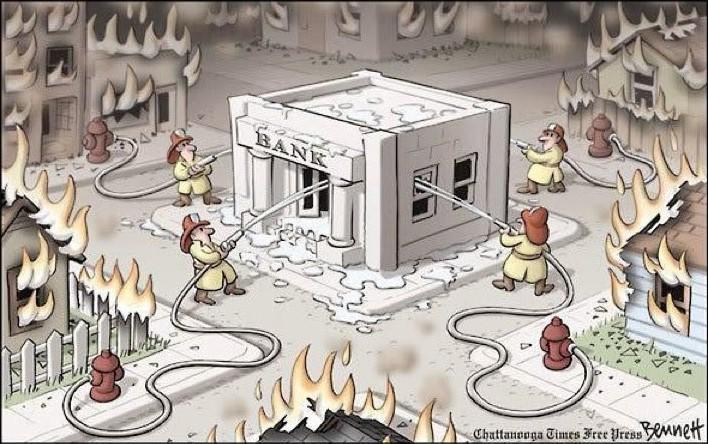 El rescate bancario
